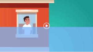 Vidéo pour guider le consommateur qui a du mal à payer sa facture d'eau.